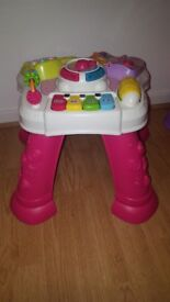 Girls play table and chair