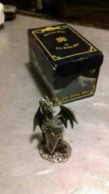 Ornamental Pewter Dragon Collection