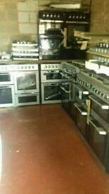 Range Cooker Gas Electric and Duel fuel new never used offer sale from £370