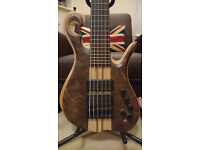 Letts 6 String Bass Guitar