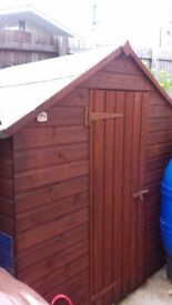 Almost New Shed