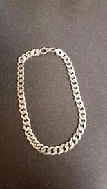 190 gram 22 inches long men's 925 silver chain