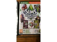 The sims starter pack 3 games in 1
