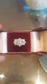 4ct diamond baguette ring