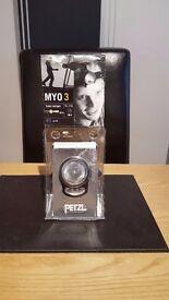 NEW PETZL MYO 3 Hands Free Xenon Halogen Headlamp 3 L.E.D.