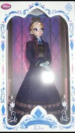 Limited edition Disney doll frozen Elsa and Anna