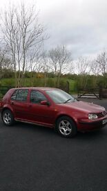 Volkswagen Golf mk4 1.9tdi manual diesel MOT