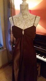 full length evening dress/ bridesmaid size 8/10