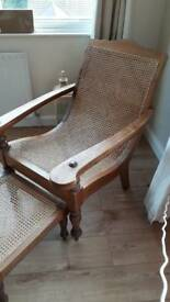 Berger weave plantation chair