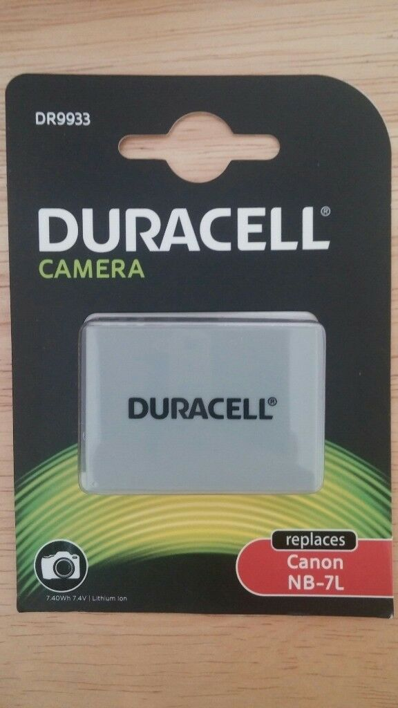 DURACELL DR9933 Lithium-ion Rechargeable Camera Battery Canon Powershot