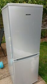 bush fridge freezer 5ft,silver