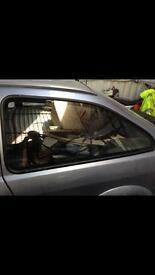 Sierra 3dr rear quarter window glass