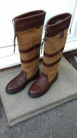 a pair of new dubarry boots. size 8.