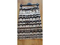 M&S Ladies Aztec Pattern Skirt