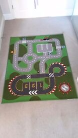 Ikea road play mat. Excellent condition £4. Measures 132cmx100cm