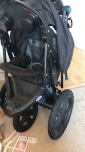 Baby tends three week stroller