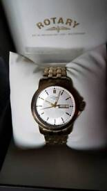 Rotary quarts watch