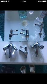 Various sets of taps brand new
