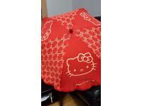 Super Cute Classic Hello Kitty Umbrella