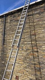 Ladder quality (2 x 14 step lader) Extending to Approx 20 feet.