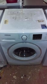 SAMSUNG 8kg white WASHING MACHINE new ex display