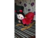Rock my baby ladybird rocker