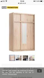 Brand new 3 door wardrobe