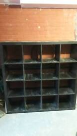 Ikea kallax 4x4 storage unit