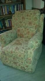 Lavenham Armchair & Footstool