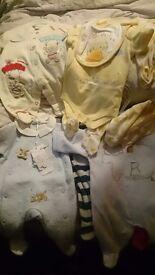 Huge selection boy newborn clothes