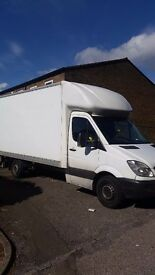 24/7 CHEAP RELIABLE MAN AND LUTON VAN WITH TAIL LIFT HOUSE OFFICE FLAT REMOVAL