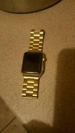 Apple watch 42mm gold