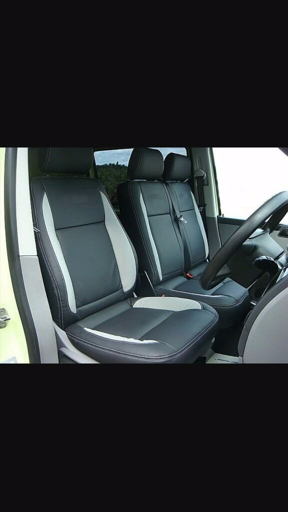 MINICAB/TAXI CAR LEATHER SEAT COVERS PEUGEOT 5008 CITREON C4 GRAND PICASSO VW TRANSPORTER MERCEDES