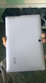 Android tablet with case