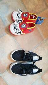 Baby boy shoes size 5 NEXT new