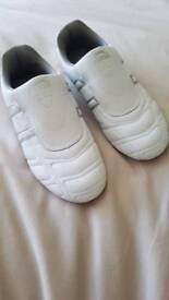 White Slazenger trainers