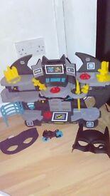 Batman cave new at xmas. Few extras included