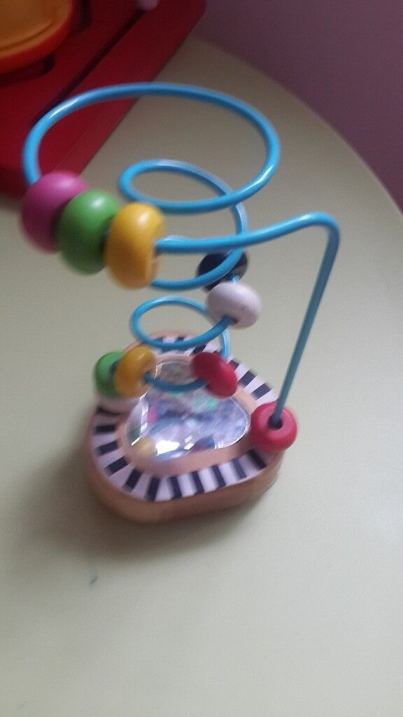 2 TOYS- mothercare/ sassy high chair toys. Automatic
