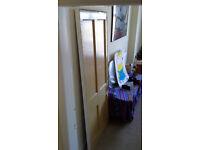 FREE - 1930s Douglas Fir Pannelled Door