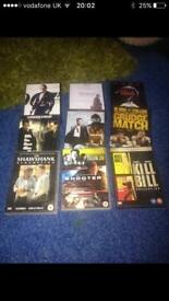 DVD collection for sale x9