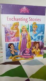 New in wrapper - Disney Princess Enchanting Stories (5 hardback books)