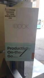 YOGA BOOK 10.1 INCH 128GB WINDOW 10 PRO BRAND NEW