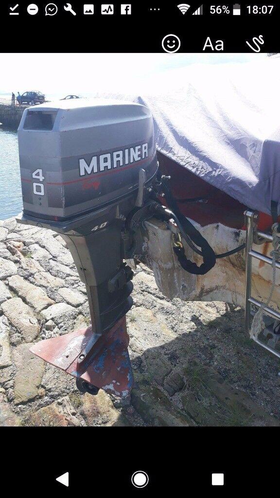 Speedboat/fishing boat