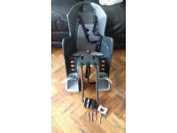Childs bicycle seat seat