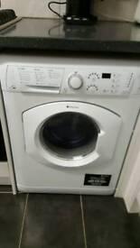 Washing machine hotpoint wash and dryer