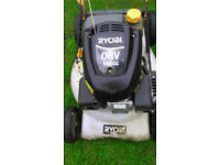 ryobi petrol lawnmower , this is a powerdrive mower. runs and cuts well