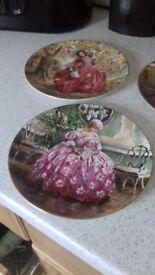 5 royal doulton plates for sale