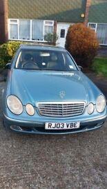 Mercedes e class petrol