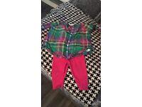 Ralph shirt and leggings set
