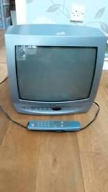 """Bush TV 14"""" screen with remote control"""